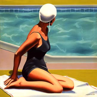 bathing_Kenton Nelson