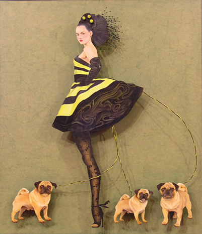 bumble bee girlby Karen Santry (2007)