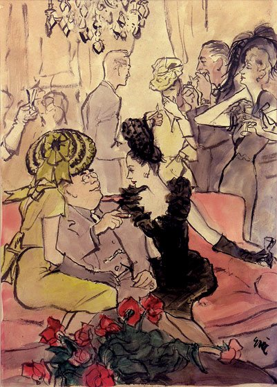 cocktail partyby Eric. (1944)