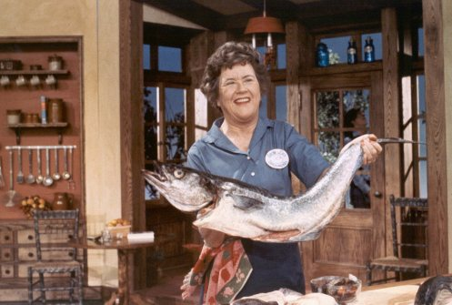 julia child fish
